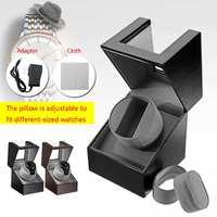 US Plug 110 220v AC Adapter Automatic Rotation Watch Winder Display Case Storage Organizer Box W/ Mute Motor 6.5 8.5r/min Adjust