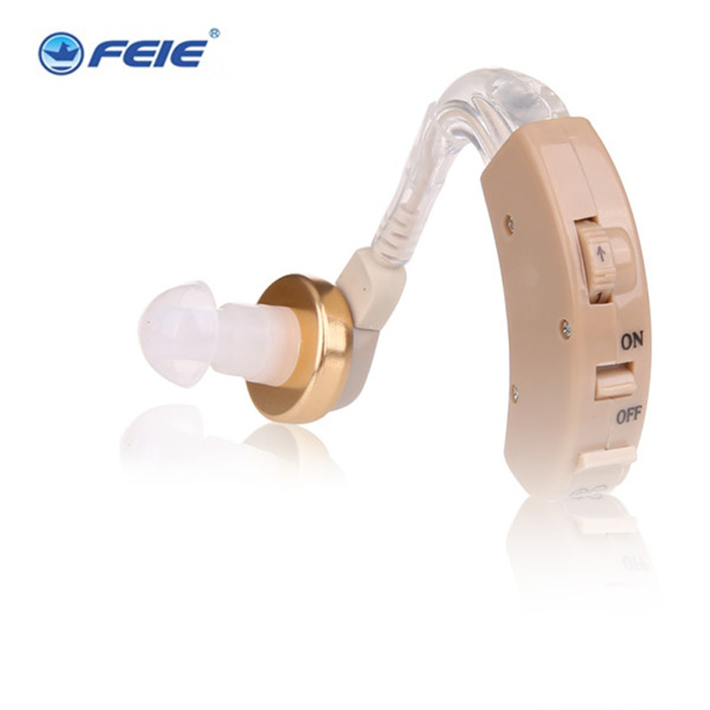 Feie Good Quality Analog Behind The Ear Headphones Deaf Hearing Aid S-8B Free Shipping