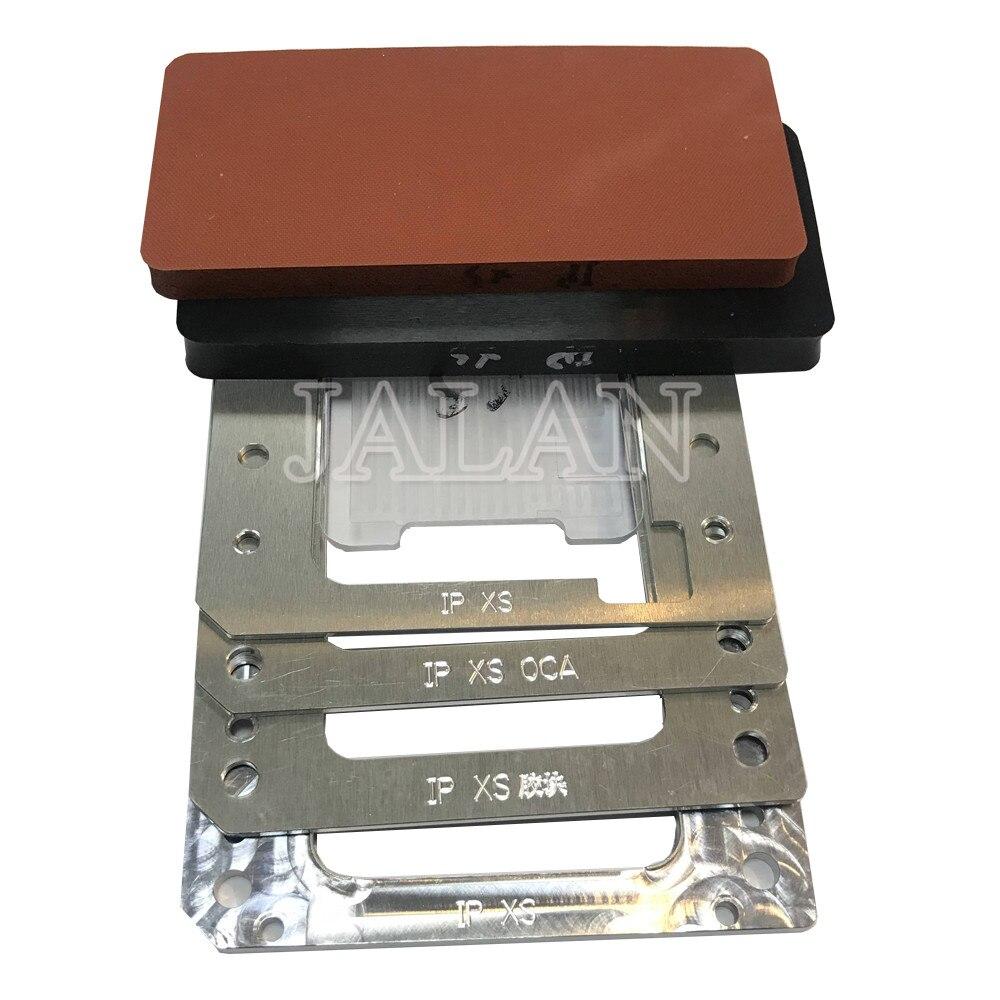 YMJ für iphone XS max ungebogenen flex laminieren form Lcd positionierung oca vakuum laminieren für handy reparatur bildschirm