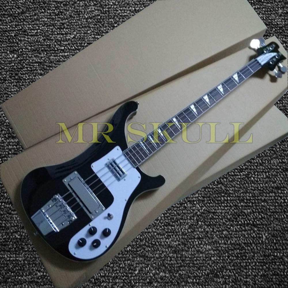 OEM Chitarre Basso Rickenback 4003 nero basso elettrico chitarra con 4 corde
