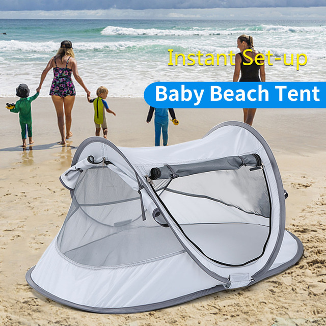 Camping Tent Outdoor Kid S Beach Canopy Indoors Baby Foldable Sun Shelter Cabana For Kids