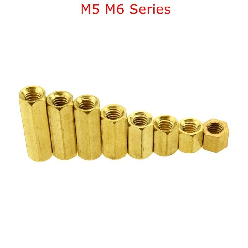 M6 M5 Hex Screw M5 M6 Female Hexagonal Brass PCB Standoffs Spacers Screw M5*(8-60mm) M6*(8-60mm)M6 M5 Hex Screw M5 M6 Female Hexagonal Brass PCB Standoffs Spacers Screw M5*(8-60mm) M6*(8-60mm)