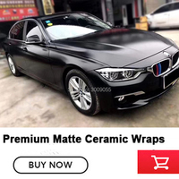 Highest quality black Khaki Army Military wrapping matte ceramics wraps vinyl Outdoor life: 3 years Guaranteed
