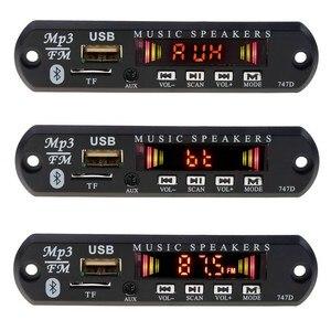 Image 3 - Kebidu Bluetooth 5V 12V MP3 WMA Xe Bộ MP3 Người Chơi Bộ Giải Mã Ban Đài FM TF USB AUX 3.5 Mm Bộ Thu Âm Thanh