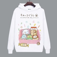 Women Hoodie for Game Sumikko Gurashi Bear Penguin Cat Cute Girls Coat Unisex Hoodies Sweatshirts Costumes