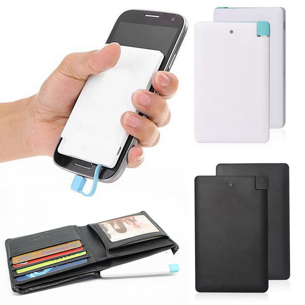 Power-Bank Xiaomi Mobile-Phone-Charger Polymer-Lithium-Battery iPhone Portable Ultra-Thin