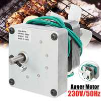 230V 1.5/2.0 rpm Replacement Auger Motor For Pit Boss Electric Wood Pellet Smoker Grill Gear Motor BBQ Oven Stove Accessories