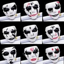1 шт. Вечерние Маски клоун ужас призрак лицо аксессуар для костюма для взрослых вечерние Косплей Хэллоуин бог смерти маски
