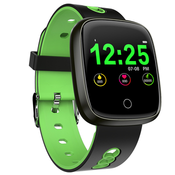 DK03 Replacement Bands with Ventilation Holes Compatible Smart Watch Blood Pressure Heart Rate Monitor Smart Watch Gift for Men