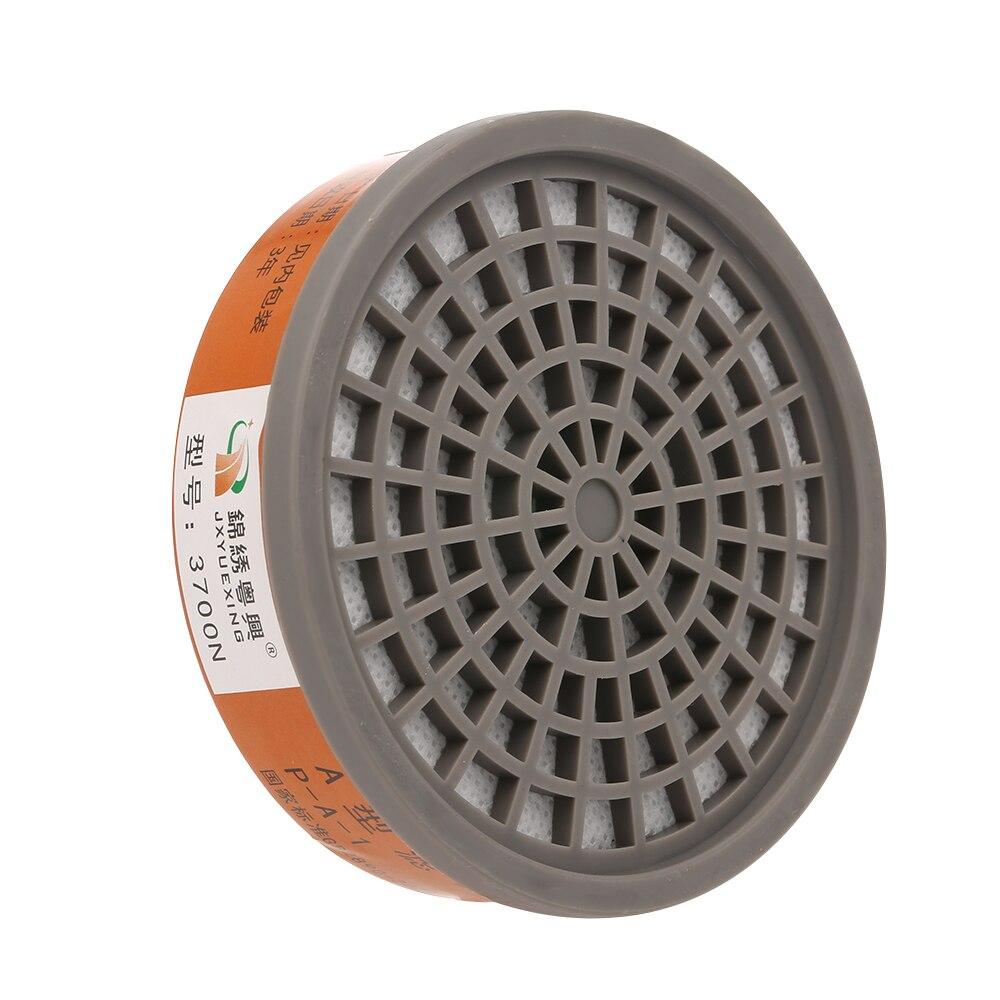 1 Pc Filtro De Máscara De Gas Químico Activado Caja De Carbón Cartucho Anti Polvo Pintura Caja De Filtro De Pulverización