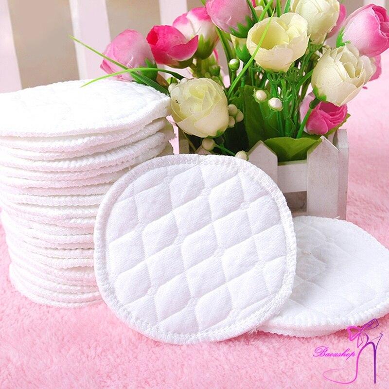 12 Pcs Wiederverwendbare Brust Fütterung Pflege Brust Pads Waschbar Weichen, Saugfähigen Baby Liefert Yjs Dropship