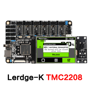 """Image 4 - 3DSWAY 3D Printer Motherboard LERDGE K ARM 32Bit Controller Board  with 3.5"""" Touch Screen DIY Parts WIFI Control Mainboard"""