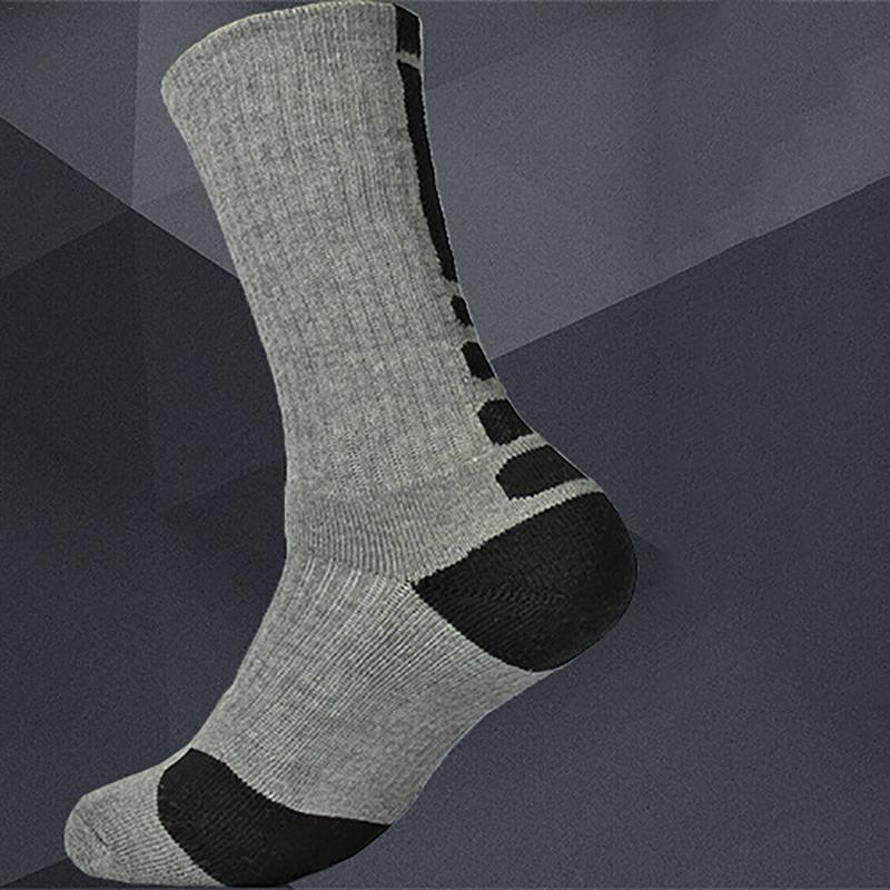 2019 New Bike Sock Outdoor Breathable Cycling Sock Badminton Soccer Basketball Walking Running Tennis Sports Socks