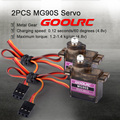 GoolRC RC Drone A2212 2450KV Brushless Motor w/Mount 40A ESC 2PCS MG90S Servo Set for RC Fixed Wing Airplane Multirotor Aircraft