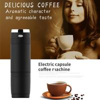 240ML electric USB coffee mixer Automatic Coffee Machine Portable Espresso Coffee Maker Capsule insulated coffee filter cup