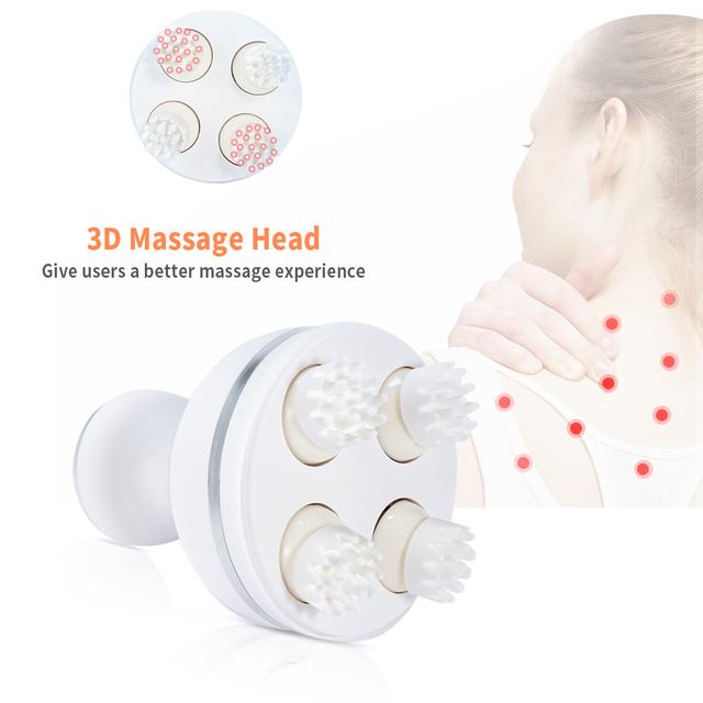 3D Vibration Multi Acupoint Head Massager