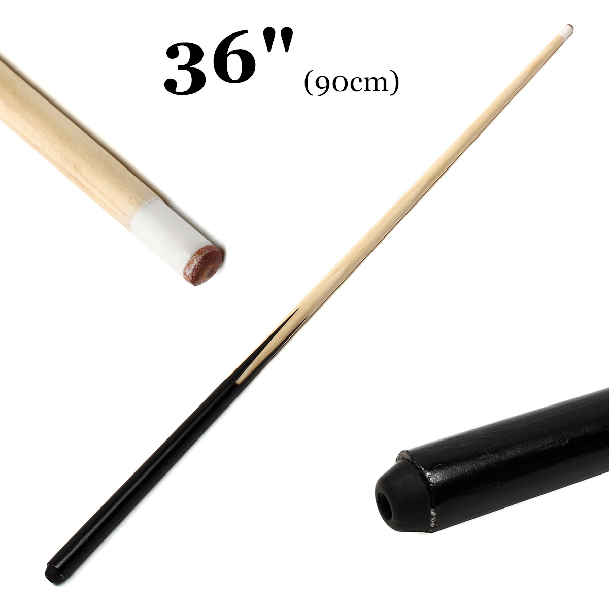 1Pcs 90cm Wooden Pool Cue Billiard House Bar Pool Cue Sticks Entertainment Snooker Billiard Tools For Kids Home Small Room