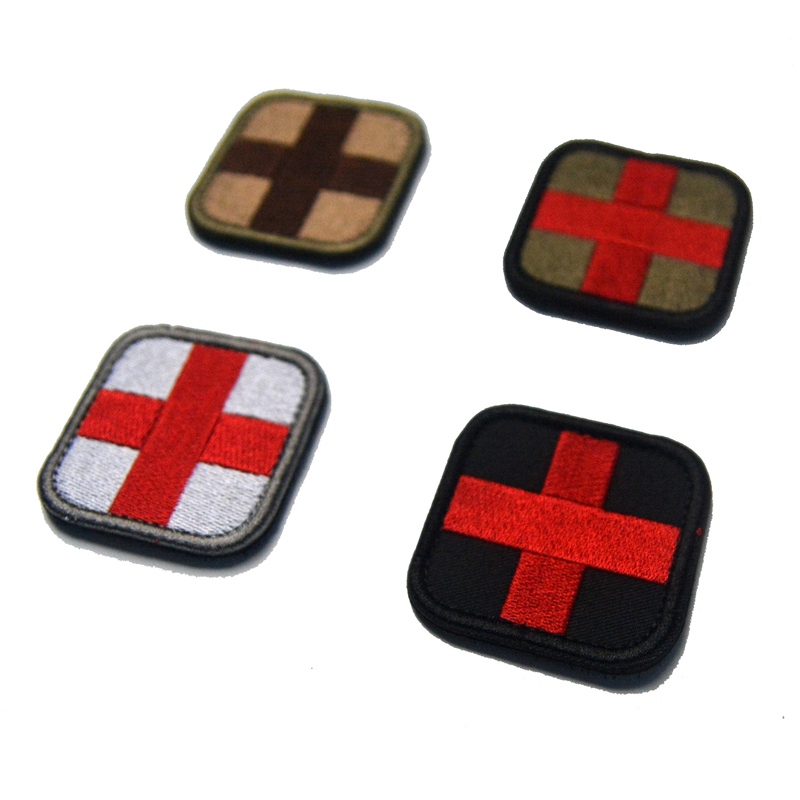 Medical Patch Medic With Magic Backpack Sticker Fabric Army Morale First Aid Emergency Cloth Cross Badge Military Medical Patch