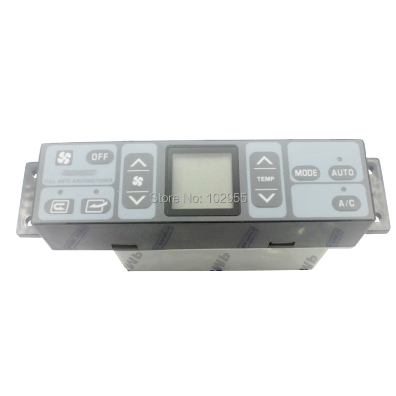 Auto Replacement Parts Air-conditioning Installation Honest Air Conditioner Control Panel 20y-979-6141 146570-2510 237040-0290 For Komatsu Pc200 Pc220 Excavator 6 Month Warranty
