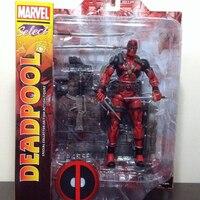10 Marvel select Deadpool Movable Spiderman Superhero 19cm
