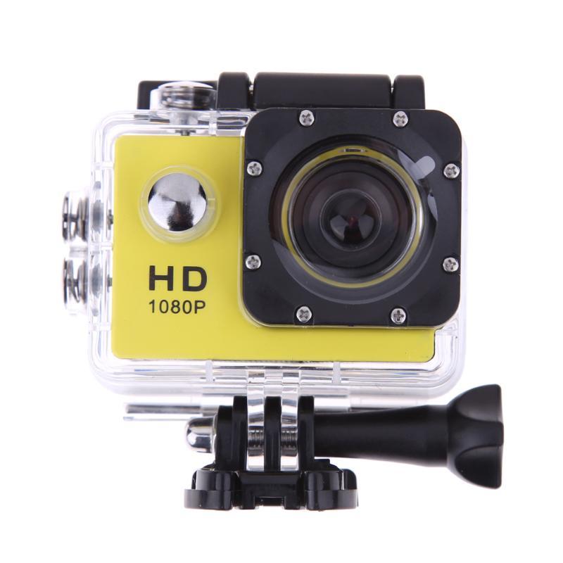 Full HD Yellow Action Camera 2.0