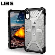 Защитный чехол UAG для iPhone XR серия Plasma цвет серый/111093114343/32/4