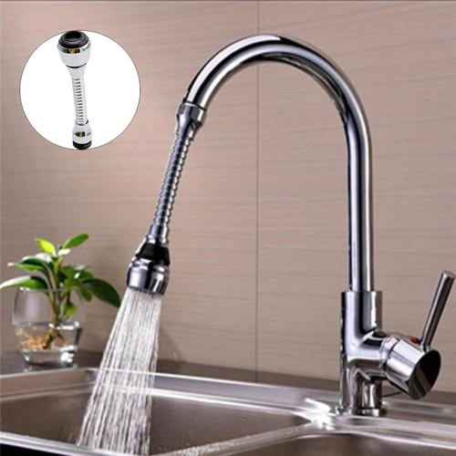 1Pc 360 Rotating Kitchen Faucet Nozzle Adapter Bathroom Faucet Accessories Filter Sprayers Tap Water-saving Device Home Supplies