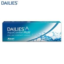 Контактные линзы DAILIES® AquaComfort Plus(30 шт) R: 8.7