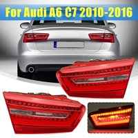 Rear Tail Light Red LED Inner Tail Light Lamp Turn Signal Lamp For Audi A6 C7 2010 2011 2012 2013 2014 2015 2016