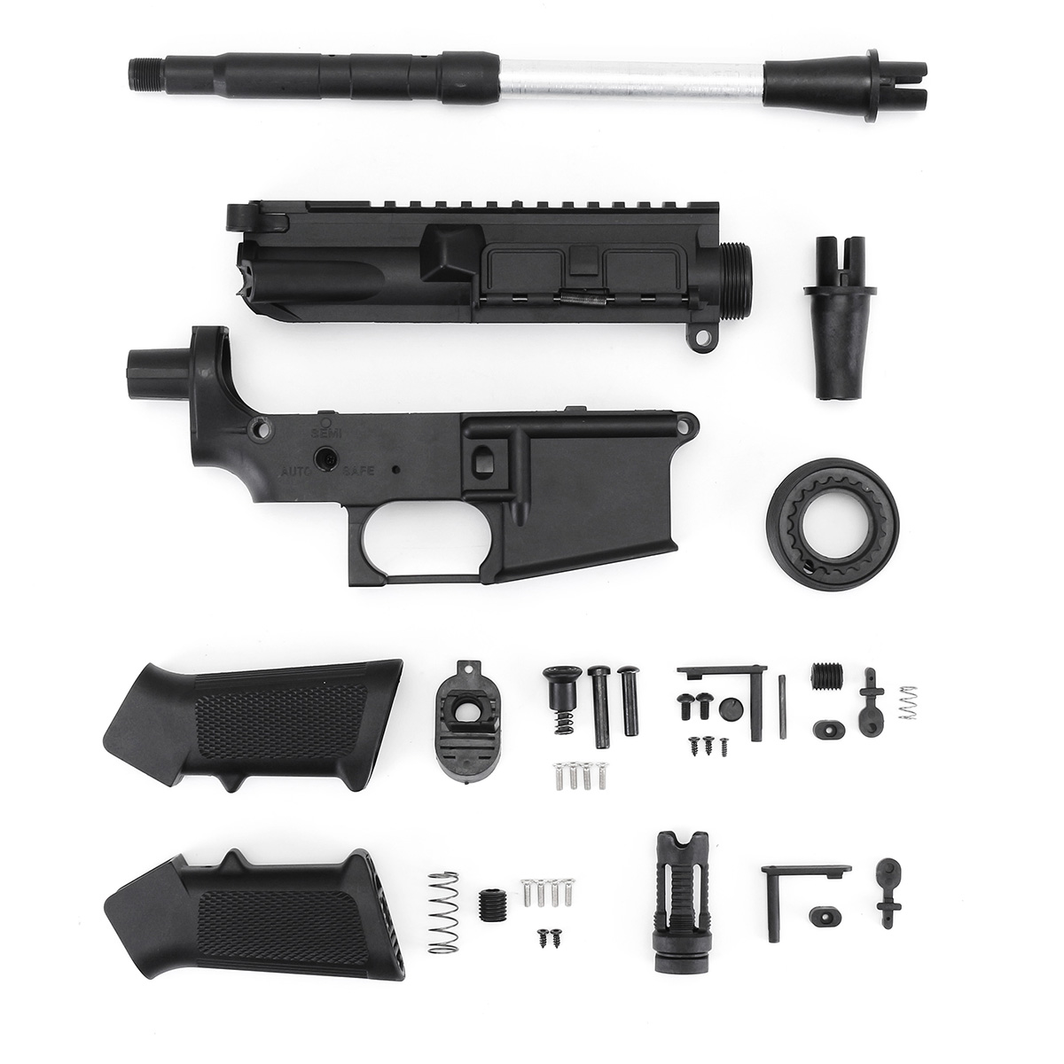 Toy Black Accessories Black Receiver Shell Kits For JinMing Gen9 M4A1 Gel Ball Toy Accessory