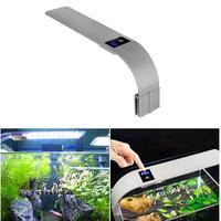 Ultra thin 15W LED Aquarium Light Clip on LED Plants Grow Light 220V Three Colors Aquatic Freshwater Lamp for Fish Tanks