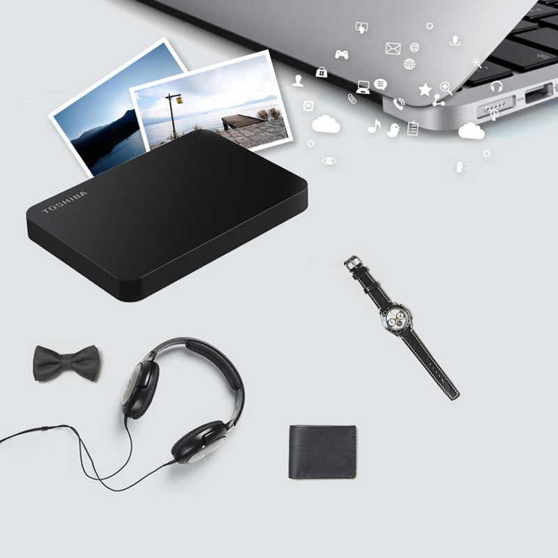 """TOSHIBA 1 TB 2 TB 3 TB HDD Esterno 1000 GB HD Portatile Hard Drive Disk USB 3.0 SATA3 2.5 """"HDTB110A Originale di 100% Nuovo"""
