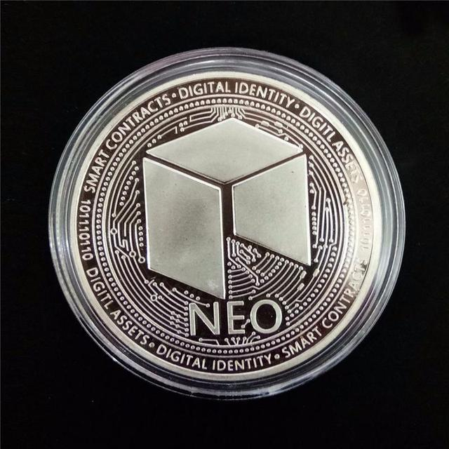 NEO Coin Virtual Metal Commemorative Coin NEO Virtual Coin Bitcoin Commemorative Coin Customized Medal Giveaway 4
