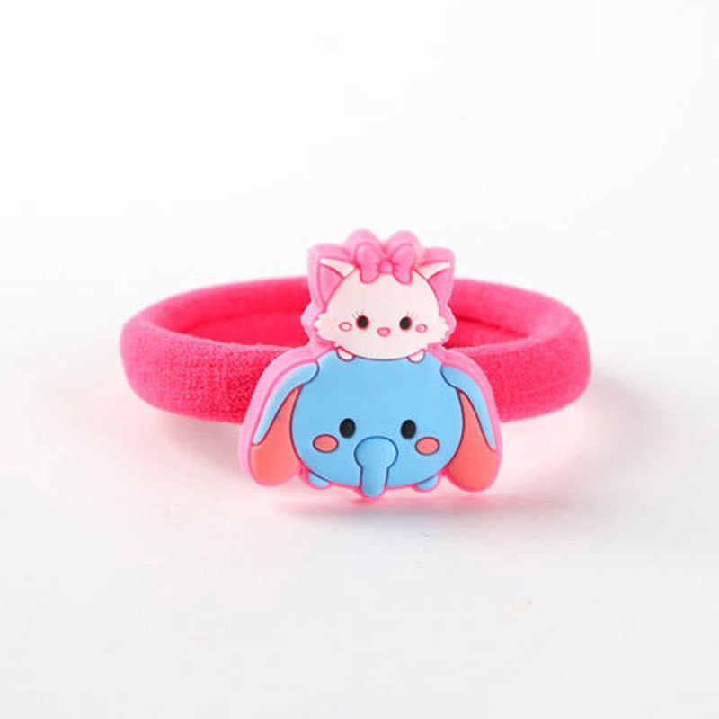 ... Disney Best-Seller Baby Kids Children Cute Hair Rope Girls Cartoon Hair  Accessories Ponytail Holders ... 9778345be92