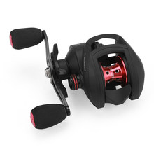 17+1 BB Bait Casting Reel with Magnetic Brake 8.1:1 Gear Ratio Freshwater Saltwater Big Fish Carp Fishing Reel Pesca(China)