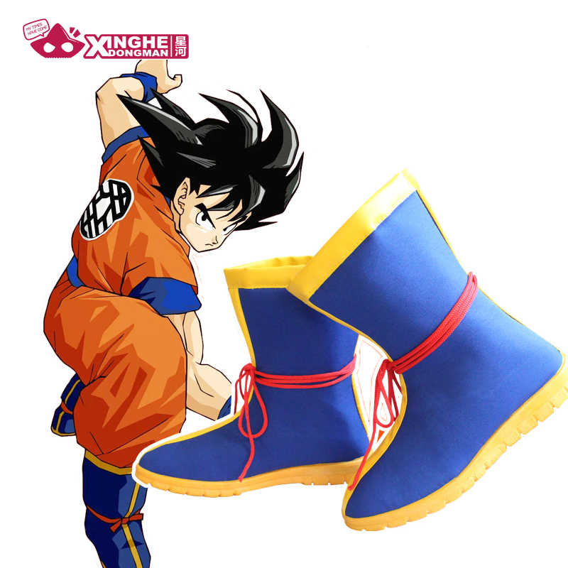 Milky Way Anime Dragon Ball Z Son Goku Cosplay Costume Shoes Adult Children Halloeen Cosplay Shoes