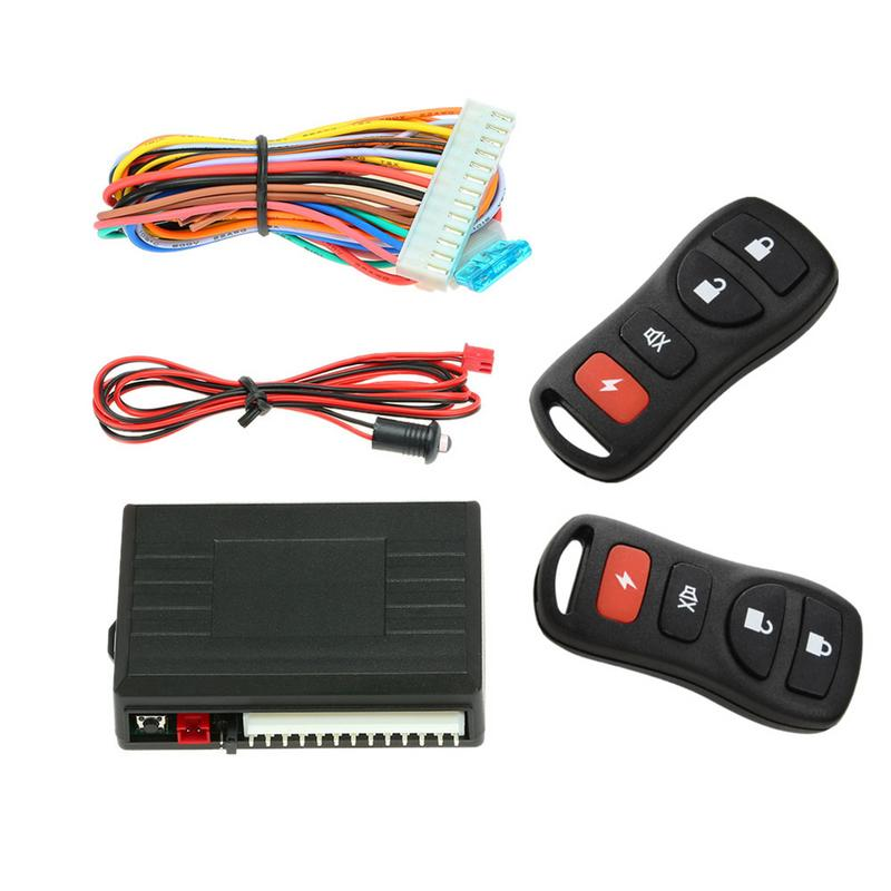 Professional Sale Central Keyless Door Lock Central Locking System With Car Remote Control Alarm Systems Remote Control Central Kit Locking Switch Electric Vehicle Parts Atv,rv,boat & Other Vehicle