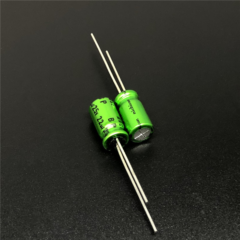 5Pcs/20Pcs 22uF 25V NICHICON Muse BP 6.3x11mm 25V22uF Top Grade Bipolar Audio Capacitor