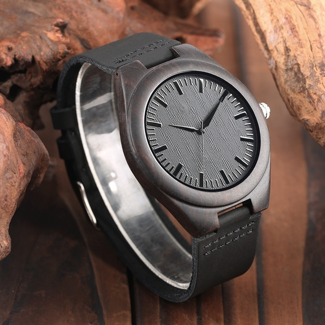 Handmade Wooden Watches Mens Watch Roman Numerals Engraved TO MY Husband/Boyfriend Clocks Present a Great Gifts for Men Lovers 4