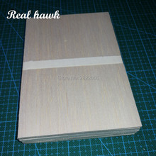 AAA+ Balsa Wood Sheets 150x100x0.75mm Model for DIY RC model wooden plane boat material
