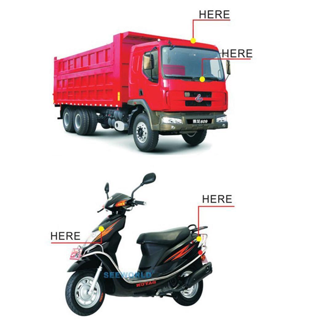 Position rapide voiture véhicule vélo localisateur localisation GPS Tracker décontracté, voyage, extérieur, etc DC 6-50 V suivi