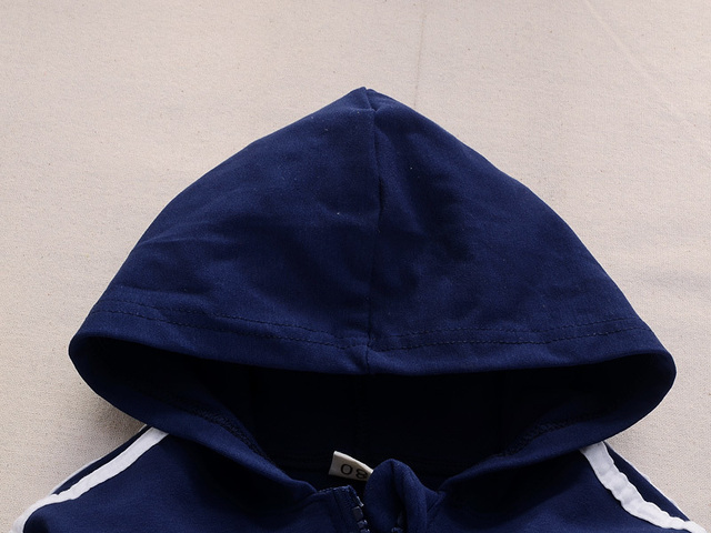 2019 Spring Baby Casual Tracksuit Children Boy Girl Cotton Zipper Jacket Pants 2Pcs/Sets Kids Leisure Sport Suit Infant Clothing 3