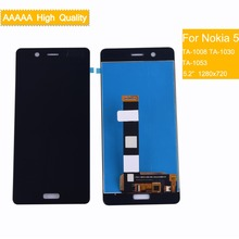 10Pcs Original For Nokia 5 N5 LCD Display With Touch Screen Digitizer Assembly Nokia5 Complete TA-1008 TA-1030 TA-1053