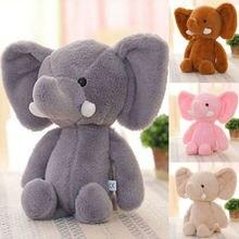 Слон, мягкие животные, кукла, новинка, для детей, для мальчиков и девочек, милые животные, мягкая плюшевая игрушка, Мини Слон, мягкие животные, кукла, подарок