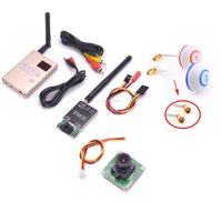 FPV 5.8G 5.8GHz 48CH RC Transmitter TX TS832 & Receiver RC832 RC832 Mushrooms Antenna 700TVL Camera For Racing drone F450 S500
