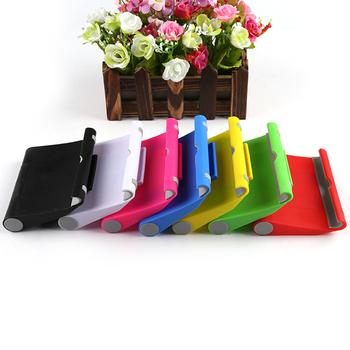 6 kolorów przenośna regulacja stojak kątowy uchwyt wspornik pomocniczy do tabletu na ipad telefon do Galaxy 10x9cm 2018 nowy tanie i dobre opinie centechia tablet holder Z tworzywa sztucznego