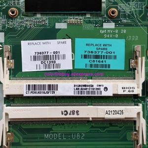 Image 3 - Oryginalne 736377 501 736377 001 736377 601 DA0U82MB6D0 REV:D 740M/2GB i5 4200U Laptop płyta główna do notebooków HP 15 N