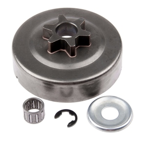Image 5 - 3/8 6T Clutch Drum Sprocket Washer E Clip Kit For Stihl Chainsaw 017 018 021 023 025 Ms170 Ms180 Ms210 Ms230 Ms250 1123