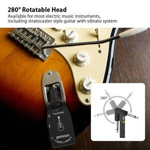 Image 3 - Ammoon 2.4G 무선 기타 송신기 오디오 6 채널 일렉트릭 기타베이스 용 기타 무선 송신기 수신기