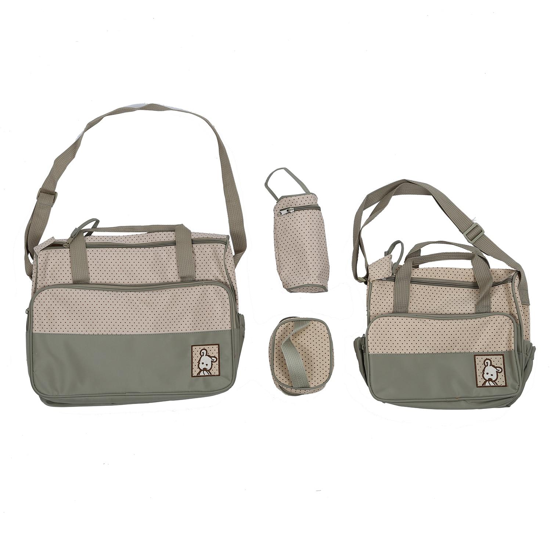 Bags Large bag Khaki Lunch Bottle Bag Layer Inside Outside